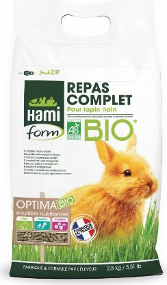 Image de Aliments Complet lapin nain 900grs bio