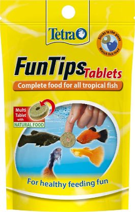 Picture of Tetra - Aliment Complet FunTips Tablets de 20 Tablettes