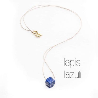 Picture of Collier fil Lapis Lazuli