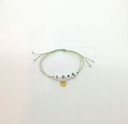 Picture of Bracelet message LOVE