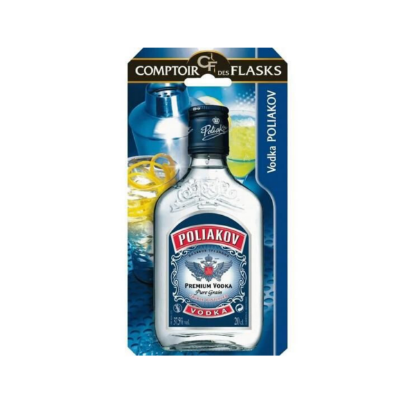 Image de Flask Vodka Poliakov 20 cl