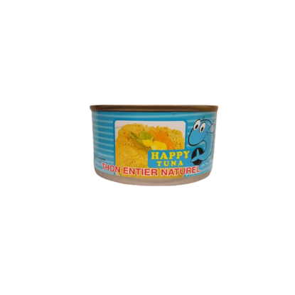 Thon entier naturel HAPPY TUNA 185G