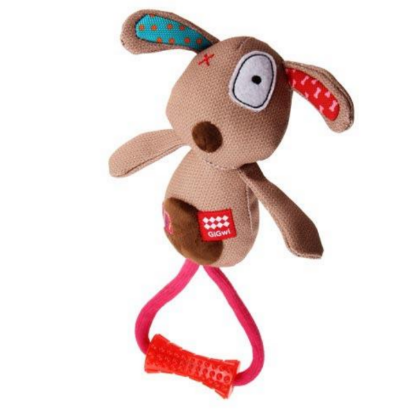 GIGWI Jouet chiots peluche chien