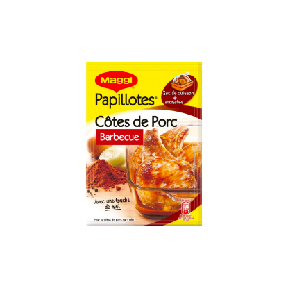 Picture of Maggi Papillotes Cote de Porc Barbecue 28g