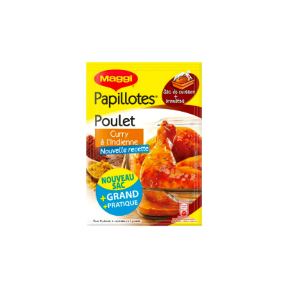 Picture of Maggi Papillotes Poulet Curry 30g