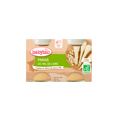 Picture of Babybio Panais 2x130g