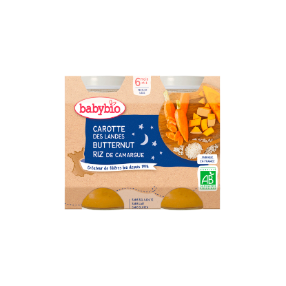 Picture of Babybio Bonne Nuit Carotte Courge Butternut