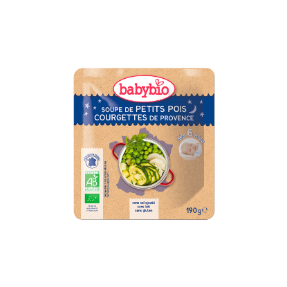 Picture of Babybio Poche B. Nuit Soupe P.Pois Courgette