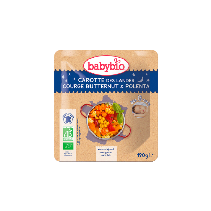Picture of Babybio Poche B. Nuit Carotte Courge Btn Polenta