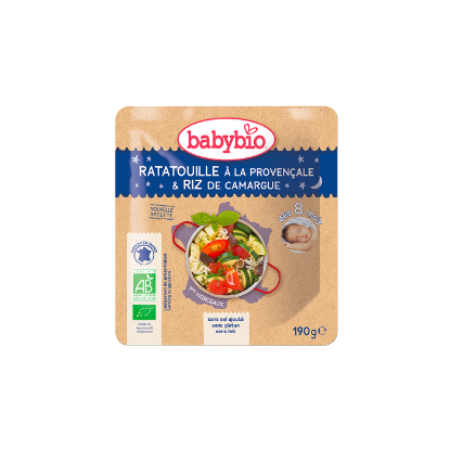 Picture of Babybio Poche B. Nuit Ratatouille Riz
