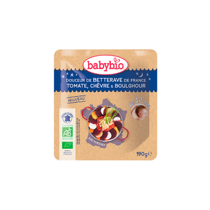 Picture of Babybio Poche BN Bettrave Tomate Chevre Boulgour