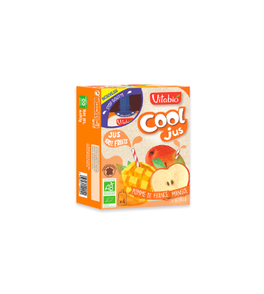 Picture of Vitabio Cool Jus Pomme Mangue Acerola 4x105ml
