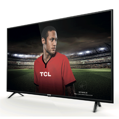 TV LED TCL 49'' (124 cm) UHD 4K HDR Smart Android 49DP600