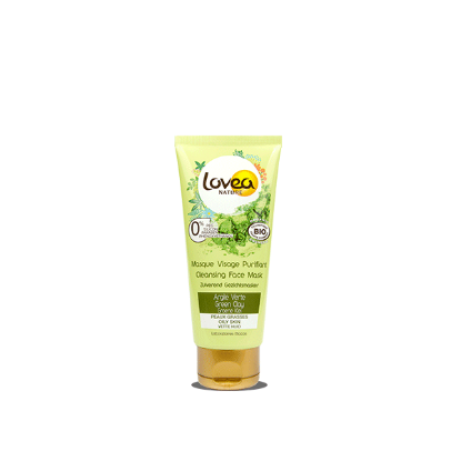 Picture of LOVEA Masque Visage Purifiant certifié Bio* à l'Argile Verte 75 ml