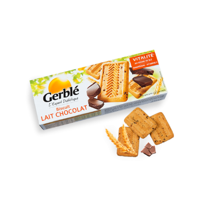 Picture of Gerblé Biscuit Lait Choco 230g