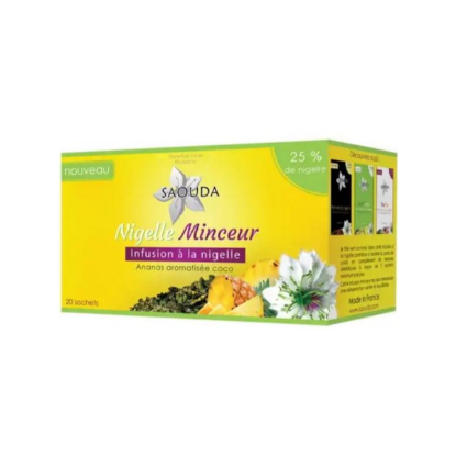 SAOUDA Infusion Minceur Ananas Coco et Nigelle