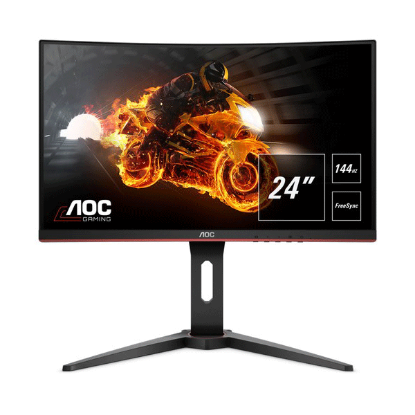 "Ecran Gaming Aoc C24G1 24"" Full HD Incurvé Noir 144 Hz 1 ms"