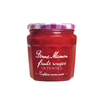 Confiture de Fruits Rouges Intense 335g BONNE MAMAN