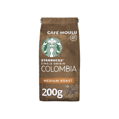 Starbucks Moulu Colombia 200g