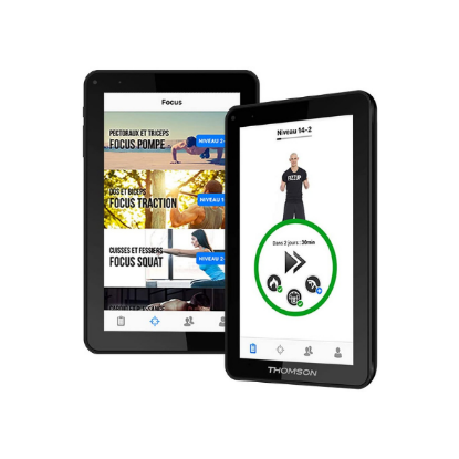 "Tablette THOMSON 9"" - 8 Go Programme de coaching sportif inclus"