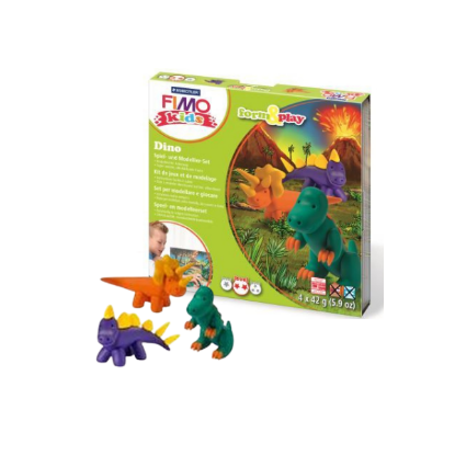 Kit Fimo Kids - Dinosaures