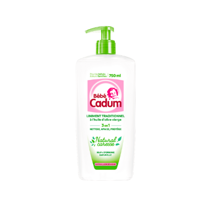 CADUM Liniment Oleo Calcaire Natural Caresse 750ml