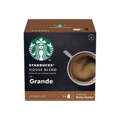Starbucks By Nescafé Dolce Gusto Grande House Blend 12 boissons