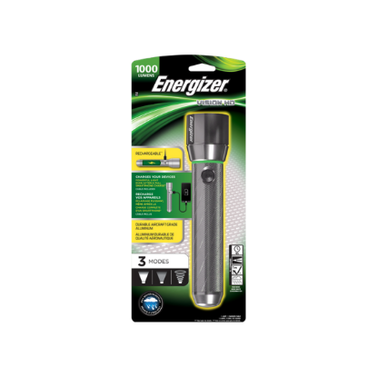 ENERGIZER Torche PRO Vision HD Rechargeable Metal Light