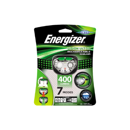 Energizer Lampe Vision Ultra HD Rechargeable Headlamp
