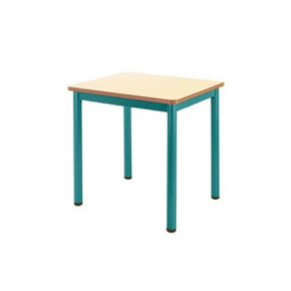 Table scolaire monoplace