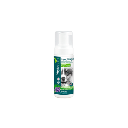 Mousse insectifuge chiens 150 ml PHYTOSOIN